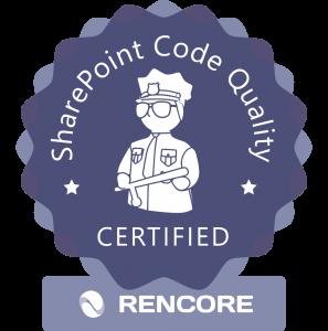Logo Rencore Certification Program round