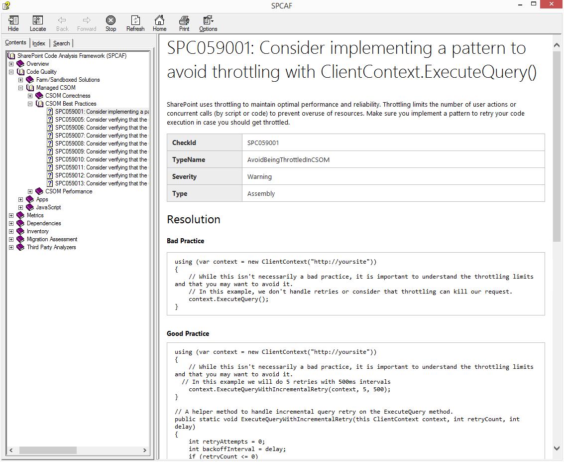 SPCAF developer