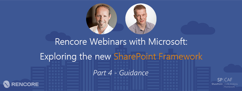 Sharepoint Framework Guidance