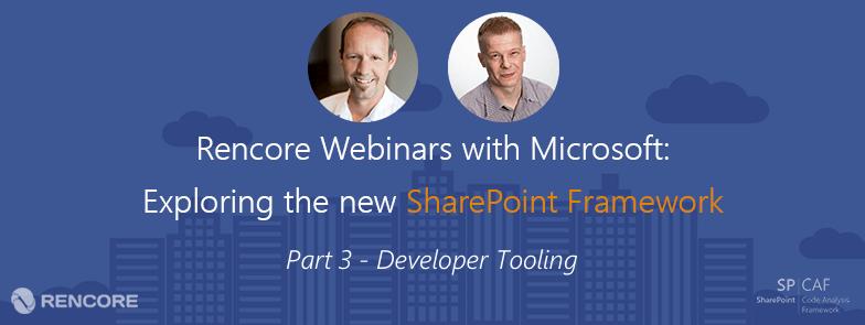 SharePoint Framework Developer Tooling