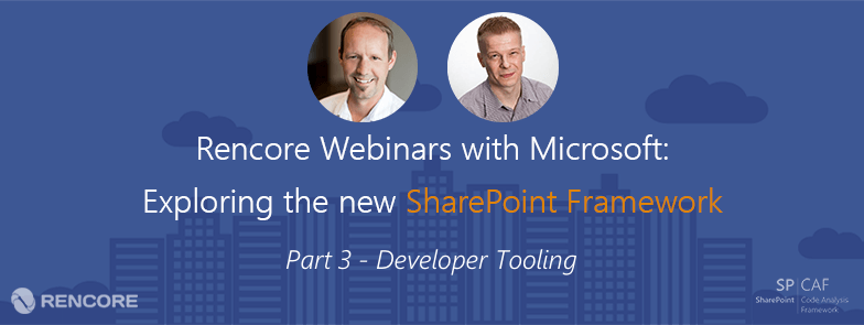 SharePoint Framework Developer Tooling
