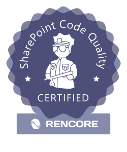 Rencore Code Quality Assurance Certification program