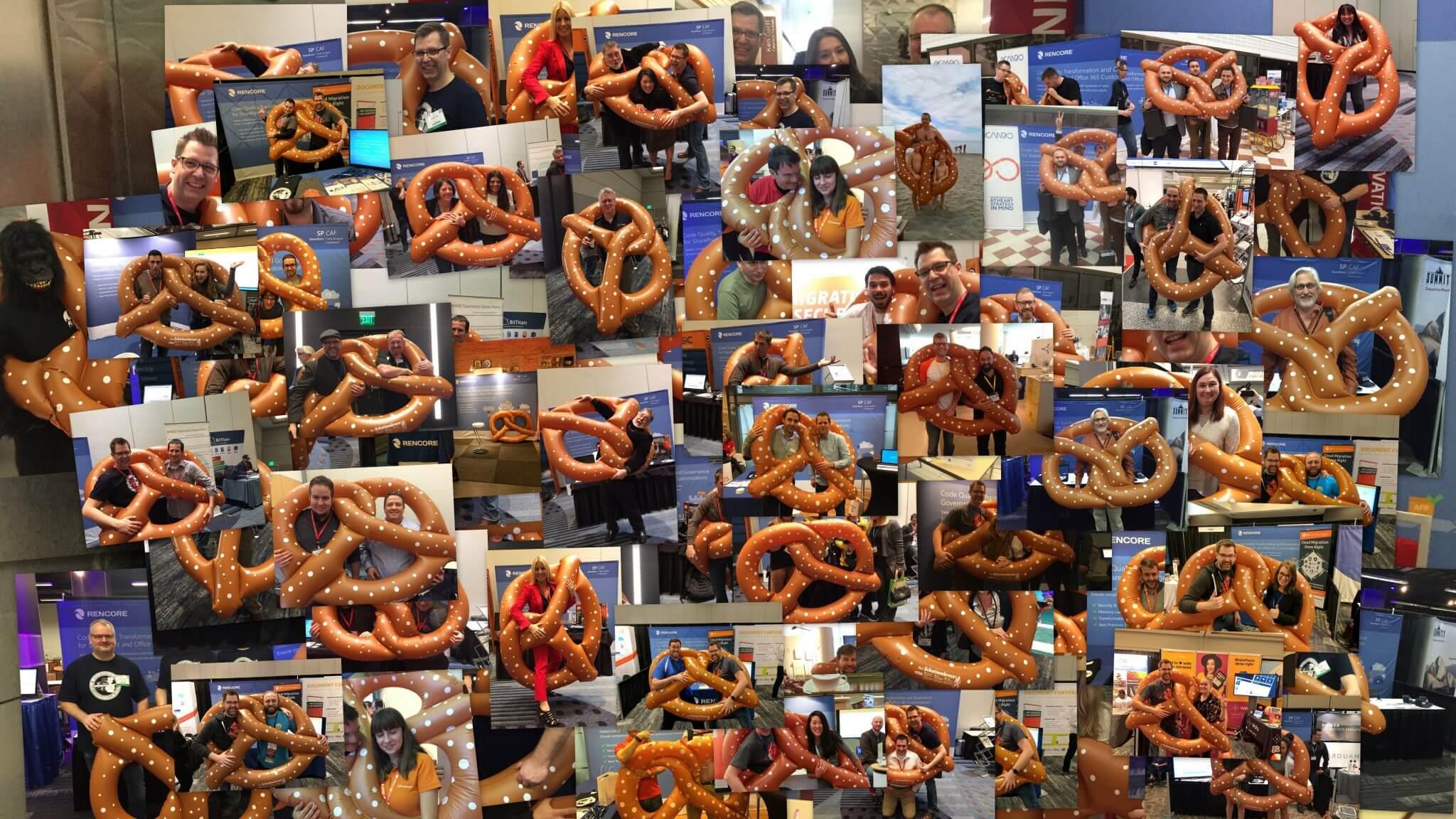 The Rencore pretzel takes center stage in 2016