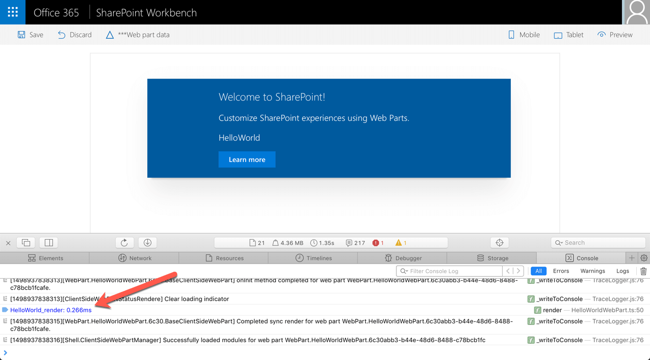 Write conditional code in the SharePoint Framework extensions