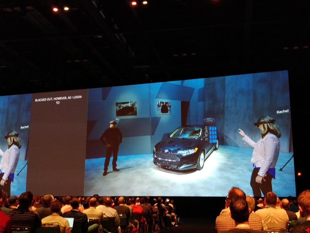 Ford and HoloLens demo