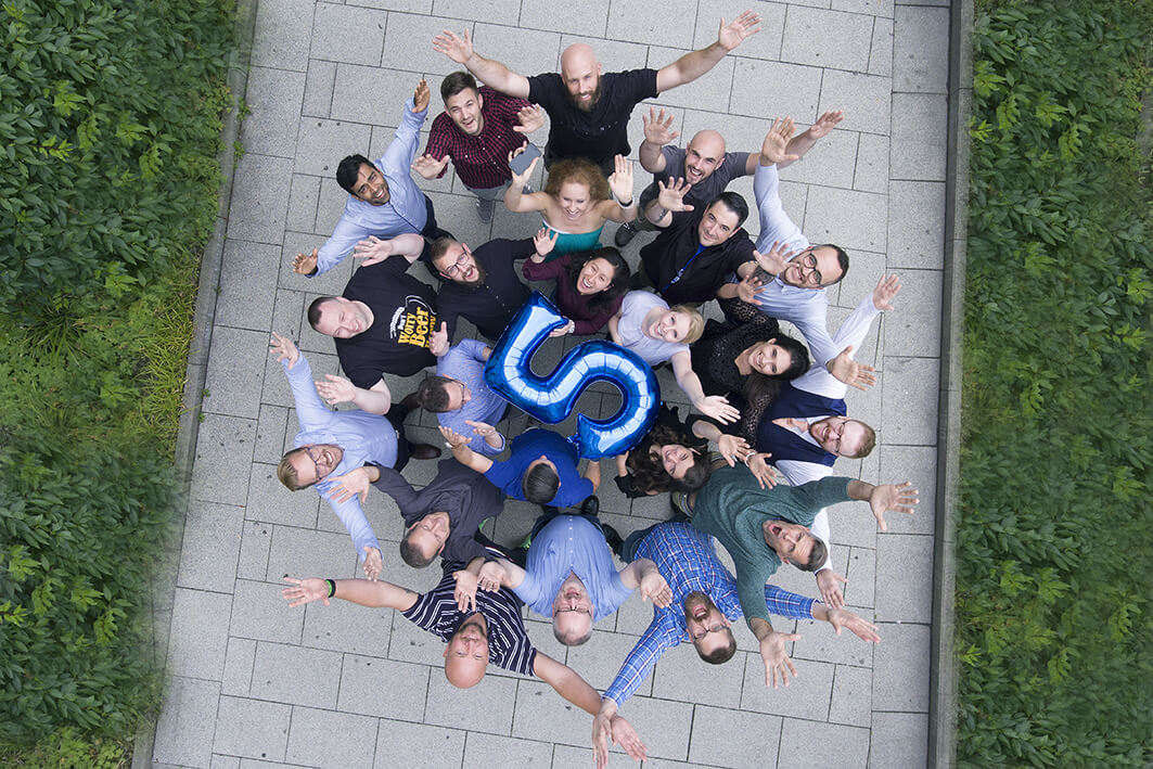 Group image of Rencore team