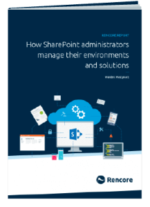 Administrator report cover image