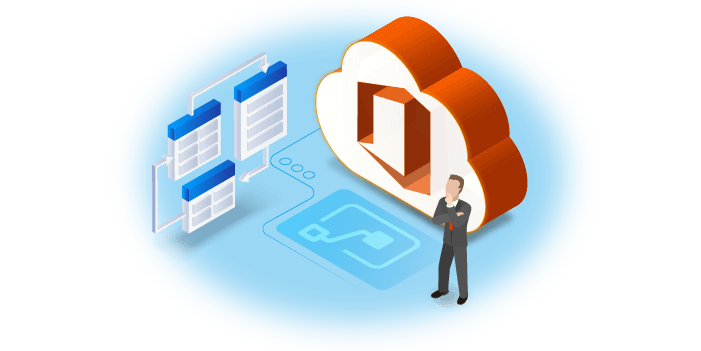 In-text Image Office 365 Flow