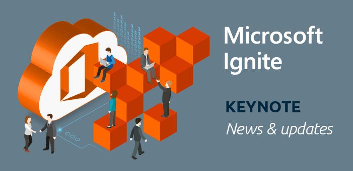 Keynote Announcements Blog Header Microsoft Ignite 2019