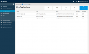Rencore Migration Assessment Tool - Web Applications